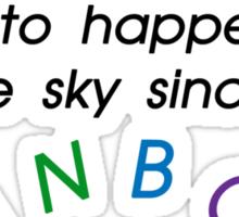 Rainbows Sticker