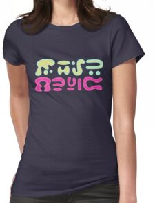 Planet Music - Rick and Morty Womens Fitted T-Shirt
