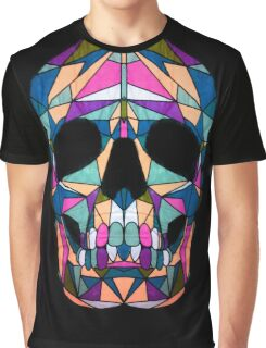 Rainbow Skull  Graphic T-Shirt