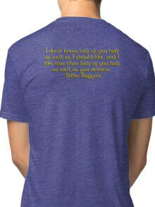 Bilbo's Speech Tri-blend T-Shirt