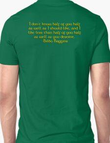 Bilbo's Speech Unisex T-Shirt
