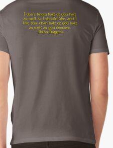 Bilbo's Speech Mens V-Neck T-Shirt