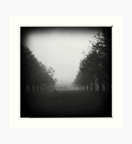 Fog. II Art Print