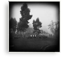 Fog. III Canvas Print