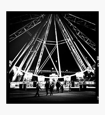 Midnight ride. Photographic Print
