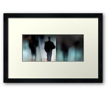 Disappearing Framed Print