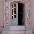 Entrance of Santorini by phil decocco