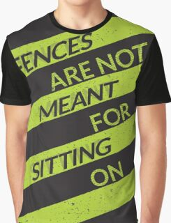 On The Fence Graphic T-Shirt