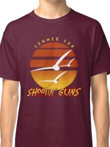 Summer Fun Shootin' Guns Classic T-Shirt