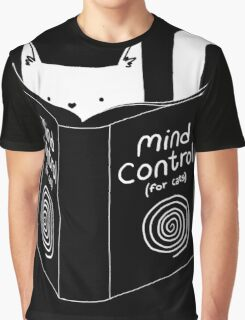Mind Control 4 Cats Graphic T-Shirt