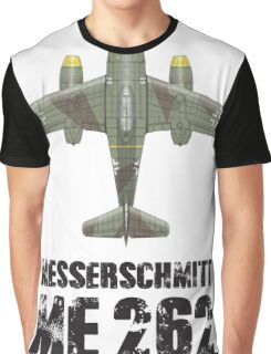 MESSERSCHMITT ME262 SCHWALBE Graphic T-Shirt