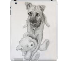 Gemma and Her Teddy Bear iPad Case/Skin