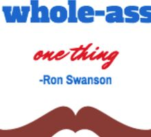 Ron Swanson - Parks and Recreation Sticker