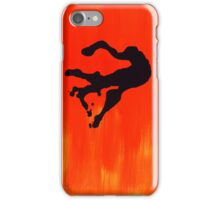 Orange and Figure iPhone Case/Skin