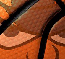 Otto the Orange Basketball Sticker