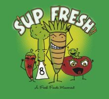 S'up Fresh?! Fresh Foods Movement Kids Tee