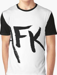 AFK - Black Graphic T-Shirt