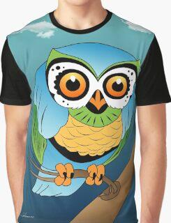 owl Graphic T-Shirt