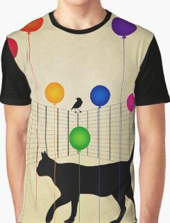 cat Graphic T-Shirt