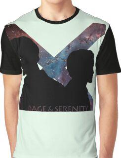 Rage & Serenity Graphic T-Shirt