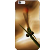 Eco Series - Demoiselle #7 iPhone Case/Skin