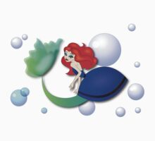 Twisted Tales - The Little Mermaid Tee One Piece - Short Sleeve