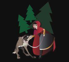 Twisted Tales - Little Red Riding Hood Tee by Lauren Eldridge-Murray