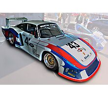 Porsche 935/78 Moby Dick Photographic Print