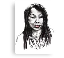 Thai Woman Canvas Print