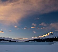 Winter in The Rockies by Paul Gana