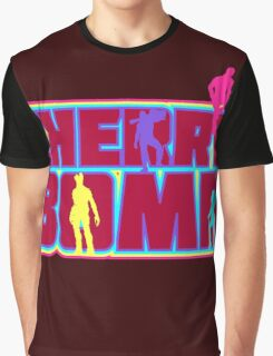 Cherry Bomb (Text) Graphic T-Shirt