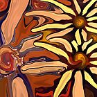 Sunflower Abstract by ChrisButler