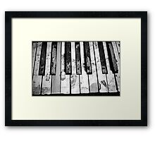 """Off key"" Framed Print"