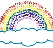 Hex Rainbow by Sleevezipper
