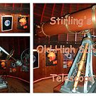 Stirling's Old High School Telescope by ©The Creative  Minds