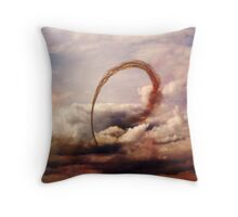 Red Arrows 2 Throw Pillow