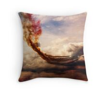 Red Arrows 3 Throw Pillow