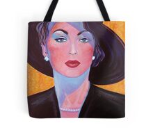 Glamorous Lady from the Fifties Tote Bag