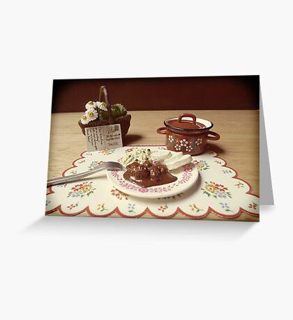 Grandma's Recipe #3 Greeting Card