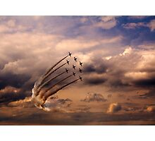Red Arrows 6 Photographic Print