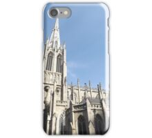 Classic Architecture, Grace Church, Broadway, New York City iPhone Case/Skin
