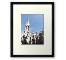 Classic Architecture, Grace Church, Broadway, New York City Framed Print
