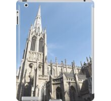 Classic Architecture, Grace Church, Broadway, New York City iPad Case/Skin