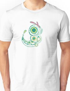 Caterpie Pokemuerto | Pokemon & Day of The Dead Mashup Unisex T-Shirt