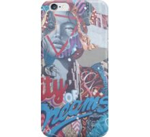 Colorful Mural, Lower Manhattan, New York City iPhone Case/Skin