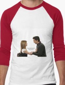 "Ross and Rachel in ""The Last One"" Men's Baseball ¾ T-Shirt"