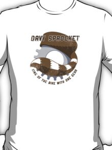 Davy Sprocket - King of the Bike With One Gear T-Shirt