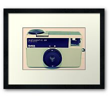Kodak Instamatic 28 Framed Print
