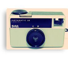 Kodak Instamatic 28 Canvas Print