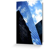 Rippled Skyscraper Greeting Card